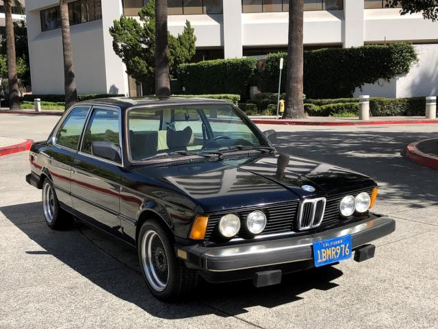 Salvage cars for sale from Copart Bakersfield, CA: 1980 BMW 320I