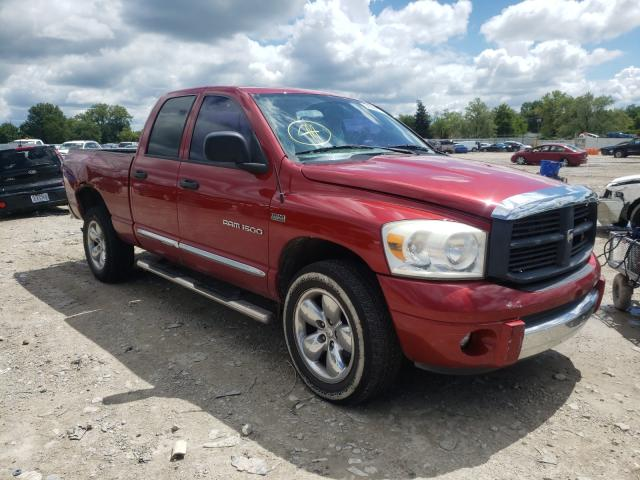 Salvage cars for sale from Copart Columbus, OH: 2007 Dodge RAM 1500 S