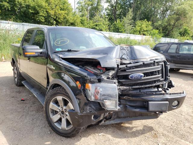 Salvage cars for sale from Copart Davison, MI: 2013 Ford F150 Super