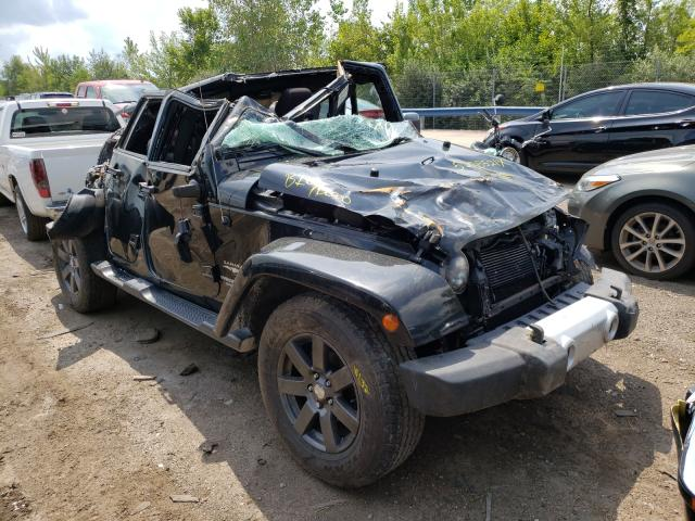 Salvage cars for sale from Copart Pekin, IL: 2015 Jeep Wrangler U