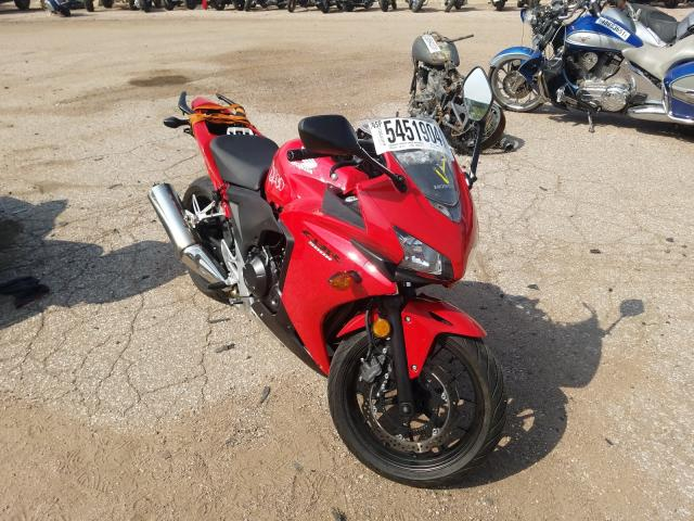 Salvage cars for sale from Copart Colorado Springs, CO: 2013 Honda CBR500 RA