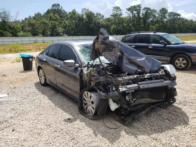 Salvage cars for sale from Copart Theodore, AL: 2013 Honda Accord EXL