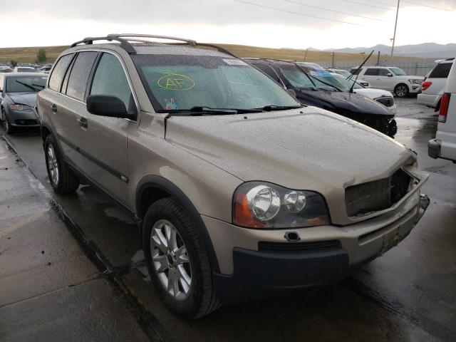Volvo salvage cars for sale: 2003 Volvo XC90 T6