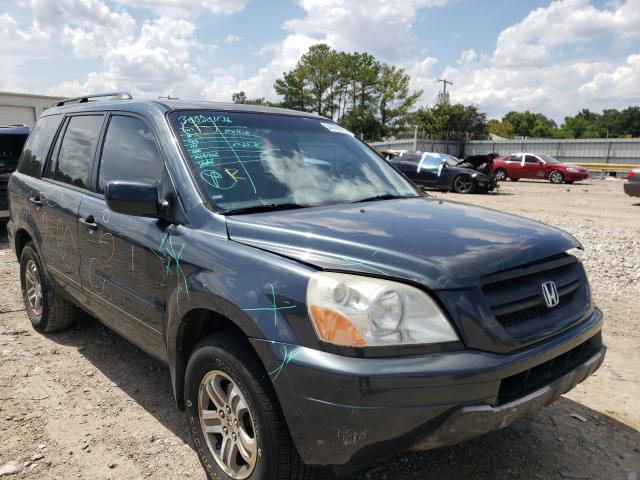 Salvage cars for sale at Florence, MS auction: 2005 Honda Pilot EXL