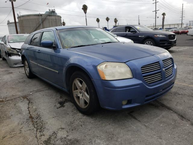 Salvage cars for sale from Copart Wilmington, CA: 2007 Dodge Magnum SXT