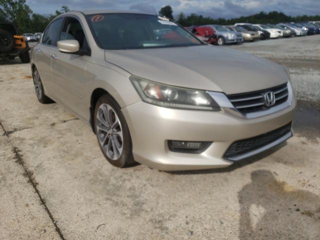 Vehiculos salvage en venta de Copart Lumberton, NC: 2014 Honda Accord Sport