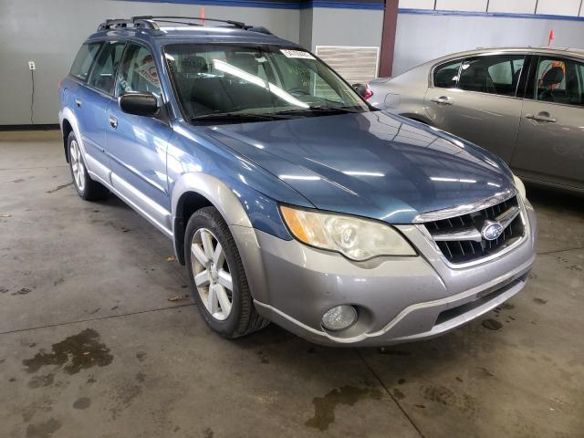 Vehiculos salvage en venta de Copart East Granby, CT: 2008 Subaru Outback 2