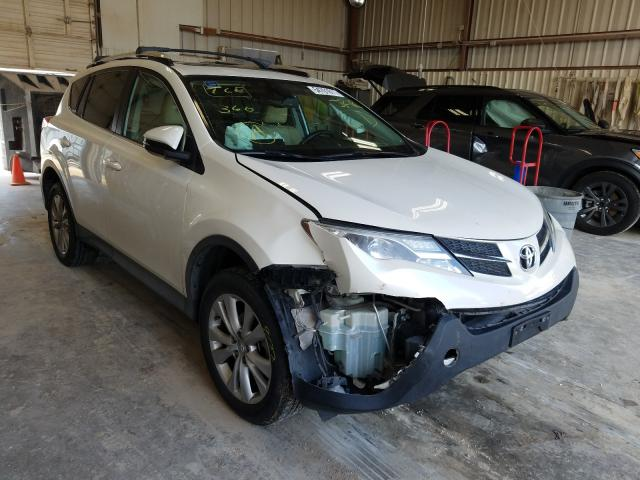 Salvage cars for sale from Copart Abilene, TX: 2014 Toyota Rav4 Limited