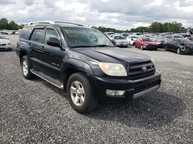 Salvage cars for sale from Copart Fredericksburg, VA: 2003 Toyota 4runner LI