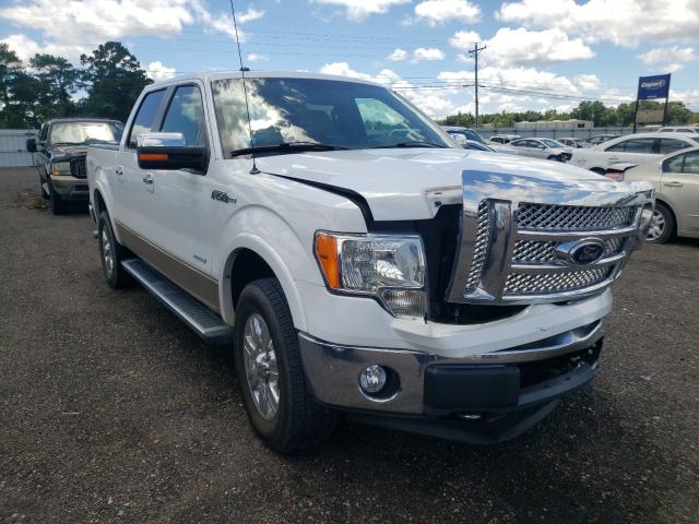 Salvage cars for sale from Copart Newton, AL: 2011 Ford F150 Super