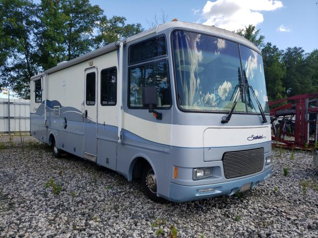 Fleetwood salvage cars for sale: 1998 Fleetwood Southwind