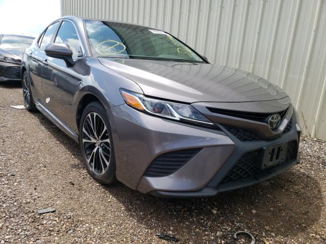 Salvage cars for sale from Copart Houston, TX: 2018 Toyota Camry L