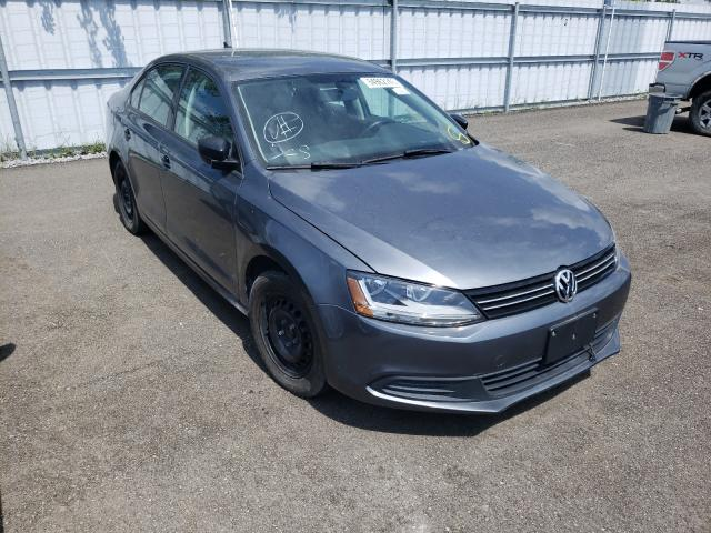 Salvage cars for sale at Bowmanville, ON auction: 2012 Volkswagen Jetta SE