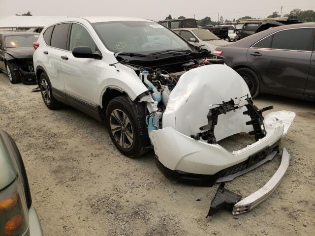 Salvage cars for sale from Copart Antelope, CA: 2017 Honda CR-V LX