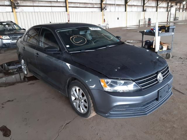 Salvage cars for sale from Copart Phoenix, AZ: 2015 Volkswagen Jetta SE
