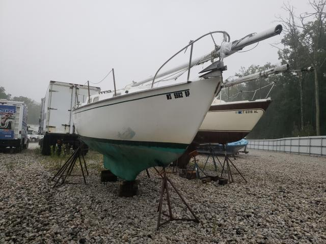 Salvage boats for sale at Warren, MA auction: 1968 Sail Boat