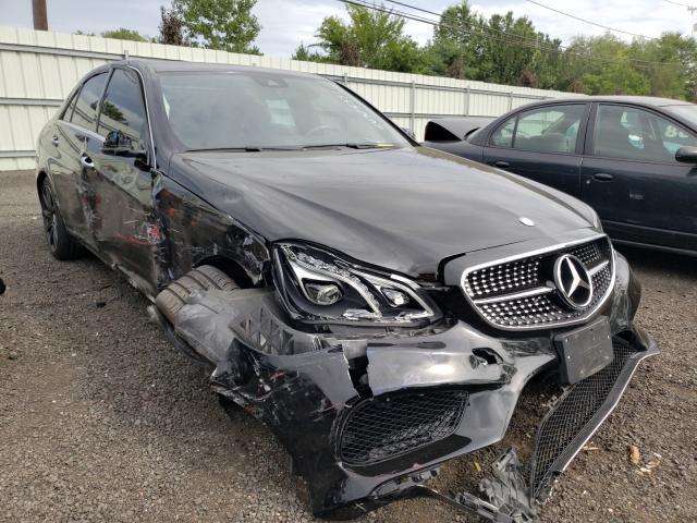 Mercedes-Benz salvage cars for sale: 2015 Mercedes-Benz E 350 4matic