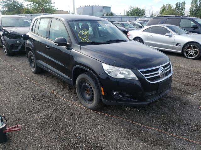 Salvage cars for sale at Bowmanville, ON auction: 2009 Volkswagen Tiguan SE