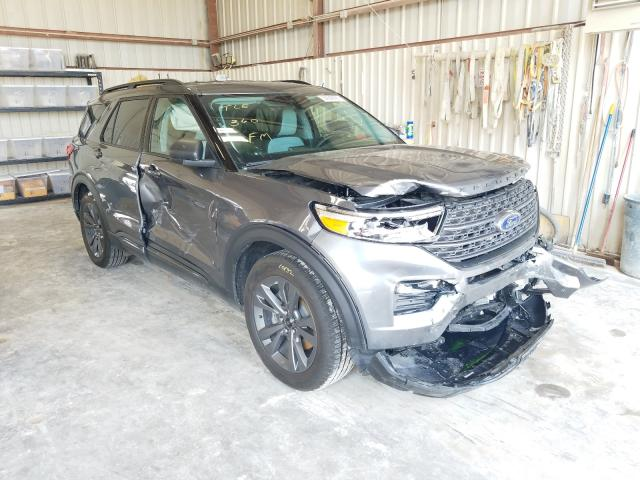 Salvage cars for sale from Copart Abilene, TX: 2021 Ford Explorer X
