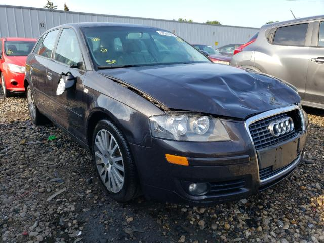 Salvage cars for sale from Copart Cudahy, WI: 2008 Audi A3 2.0 Premium