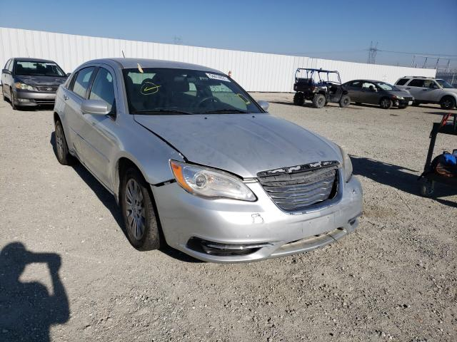 Salvage cars for sale from Copart Adelanto, CA: 2012 Chrysler 200 LX