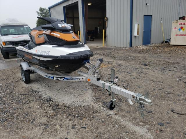 Salvage boats for sale at Sikeston, MO auction: 2015 Seadoo GTX