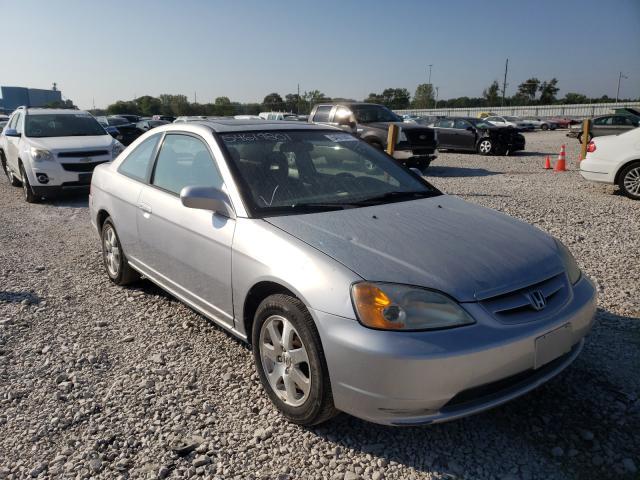 Vehiculos salvage en venta de Copart Des Moines, IA: 2003 Honda Civic EX