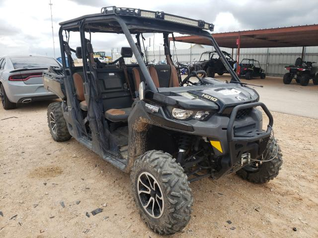 Salvage motorcycles for sale at Andrews, TX auction: 2018 Can-Am Defender M
