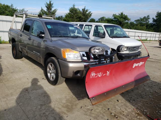 Salvage cars for sale from Copart Windsor, NJ: 2009 Nissan Titan XE