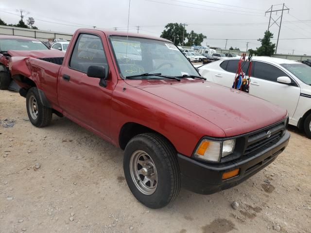 Salvage cars for sale from Copart Oklahoma City, OK: 1992 Toyota Pickup 1/2