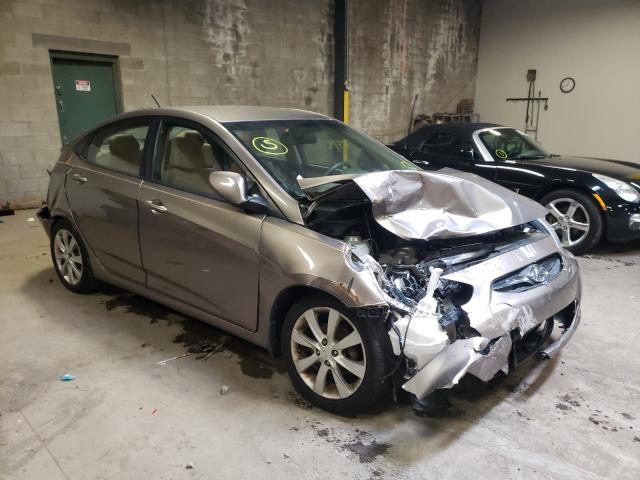 Vehiculos salvage en venta de Copart Chalfont, PA: 2014 Hyundai Accent GLS