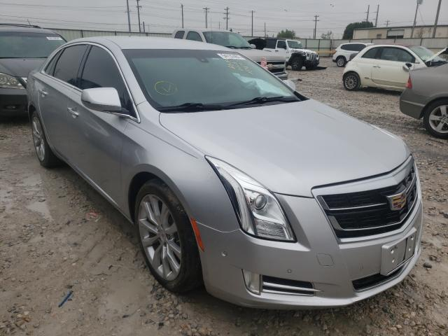 Salvage cars for sale from Copart Haslet, TX: 2017 Cadillac XTS Luxury