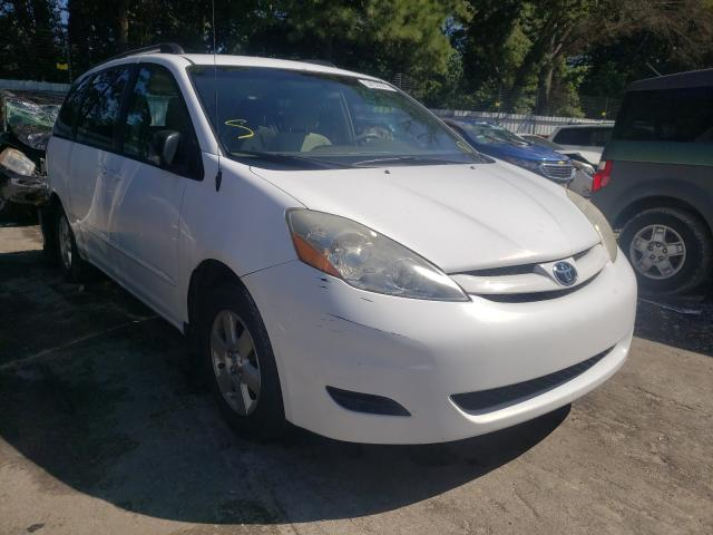 Salvage cars for sale from Copart Austell, GA: 2010 Toyota Sienna CE