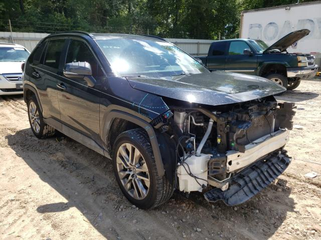 Salvage cars for sale from Copart Midway, FL: 2019 Toyota Rav4 XLE P