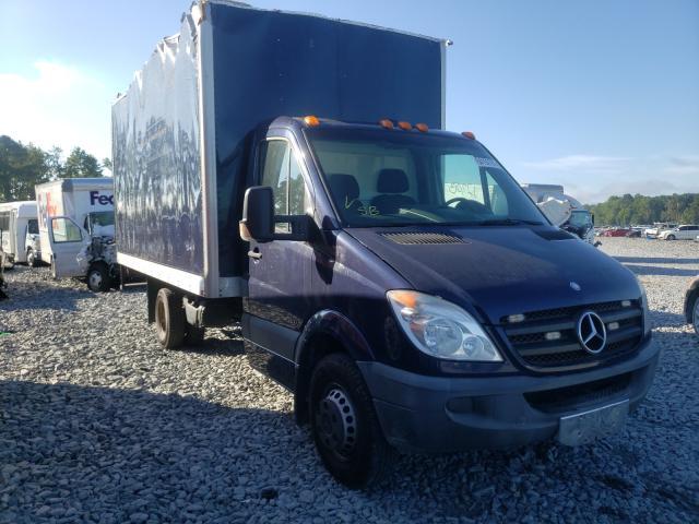 Vehiculos salvage en venta de Copart Dunn, NC: 2012 Mercedes-Benz Sprinter 3