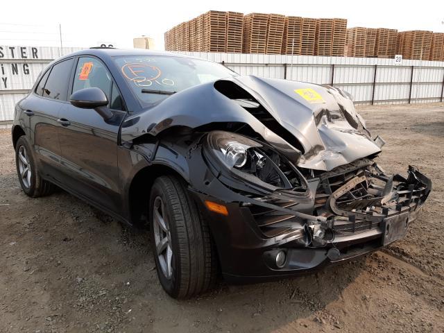 Porsche Macan salvage cars for sale: 2017 Porsche Macan