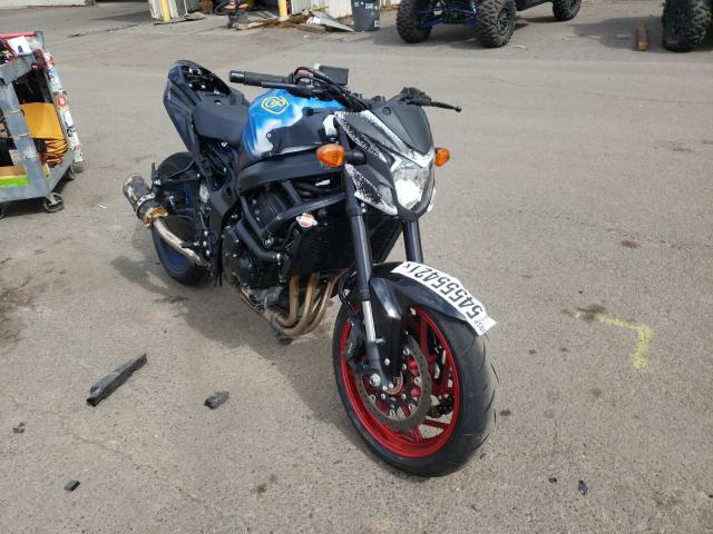 Salvage cars for sale from Copart Woodburn, OR: 2020 Suzuki GSX-S750 M