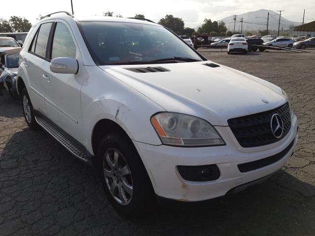 Salvage cars for sale from Copart Colton, CA: 2006 Mercedes-Benz ML 350