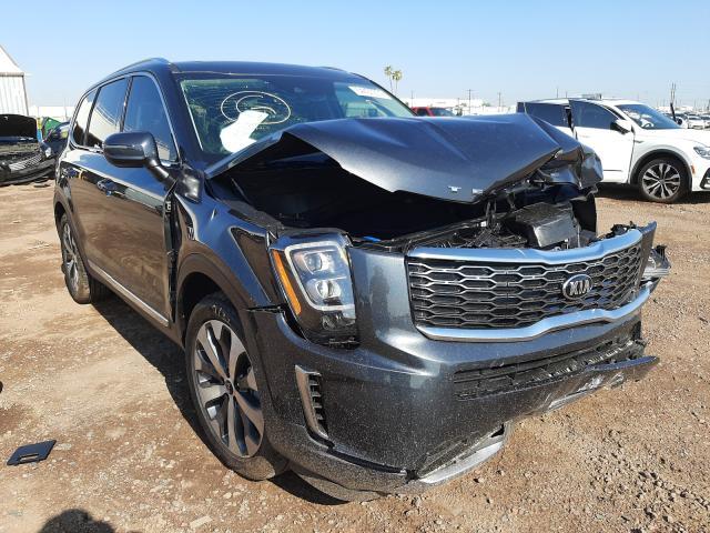 Salvage cars for sale at Phoenix, AZ auction: 2021 KIA Telluride