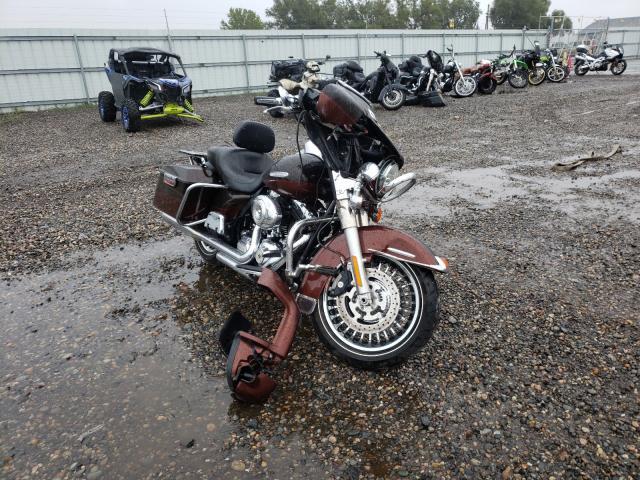 Salvage cars for sale from Copart Billings, MT: 2011 Harley-Davidson Flhtk