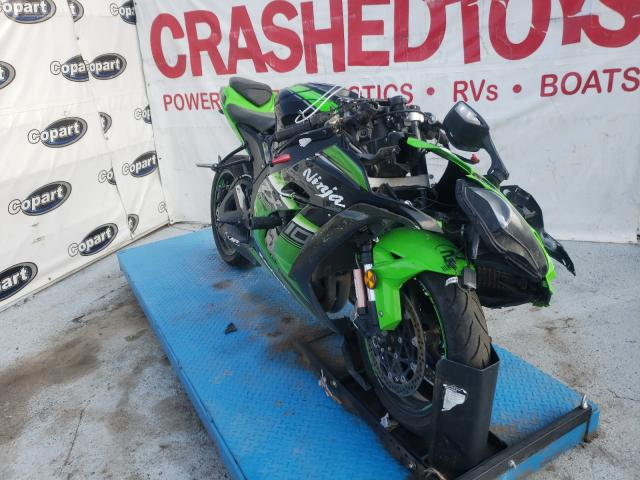 Salvage cars for sale from Copart Anthony, TX: 2016 Kawasaki ZX1000 S