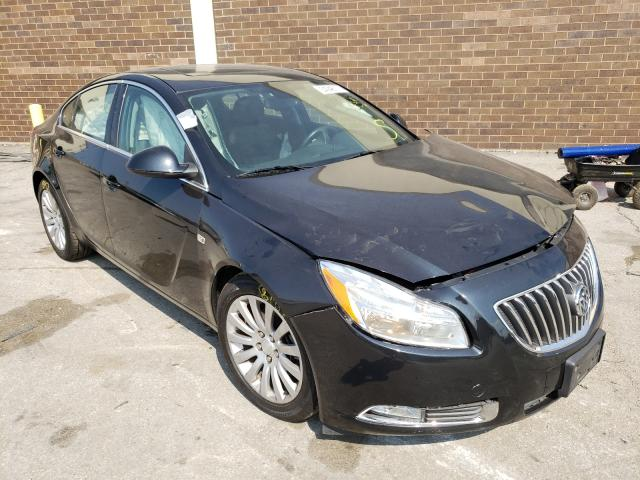 Salvage cars for sale from Copart Wheeling, IL: 2011 Buick Regal CXL