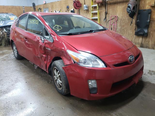 Salvage cars for sale from Copart Kincheloe, MI: 2011 Toyota Prius