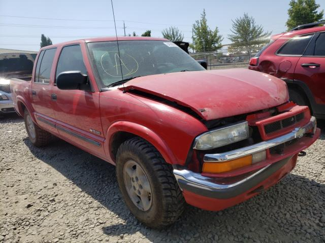 Salvage cars for sale from Copart Eugene, OR: 2002 Chevrolet S Truck S1