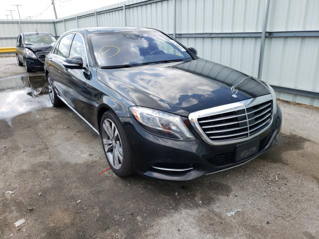 Salvage cars for sale from Copart Dyer, IN: 2015 Mercedes-Benz S 550 4matic