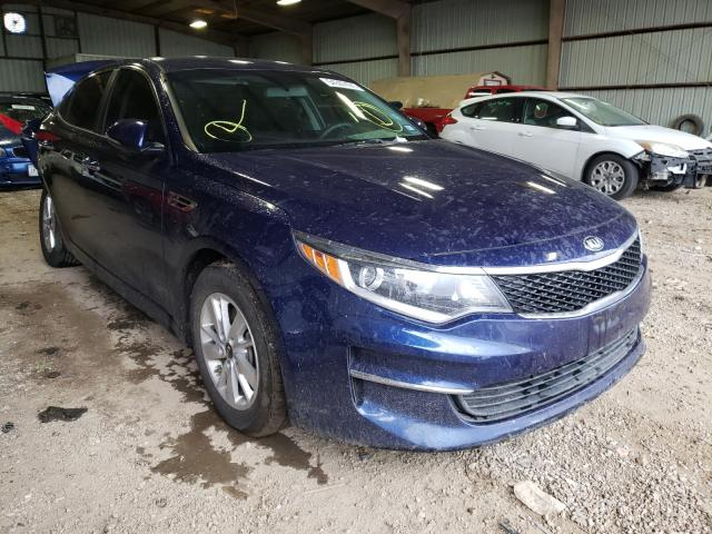 Salvage cars for sale from Copart Houston, TX: 2017 KIA Optima LX