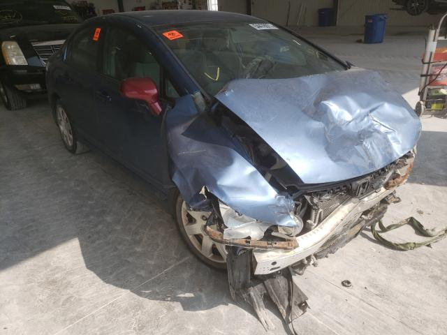 Salvage cars for sale from Copart Greenwood, NE: 2009 Honda Civic LX
