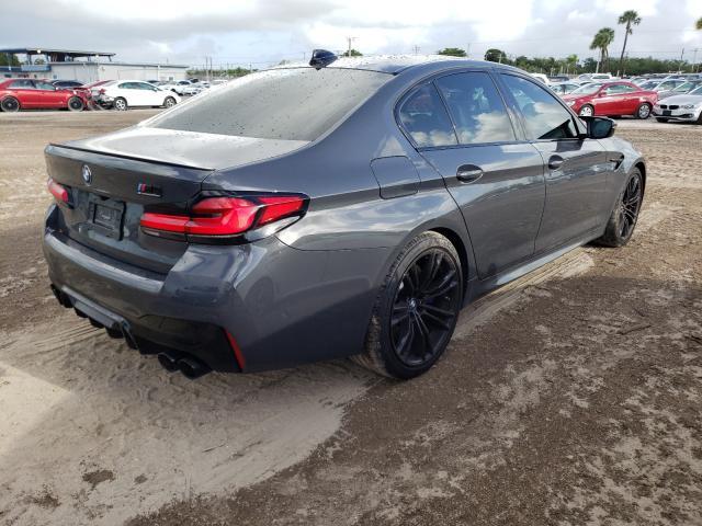 2021 BMW M5 WBS83CH04MCF76691