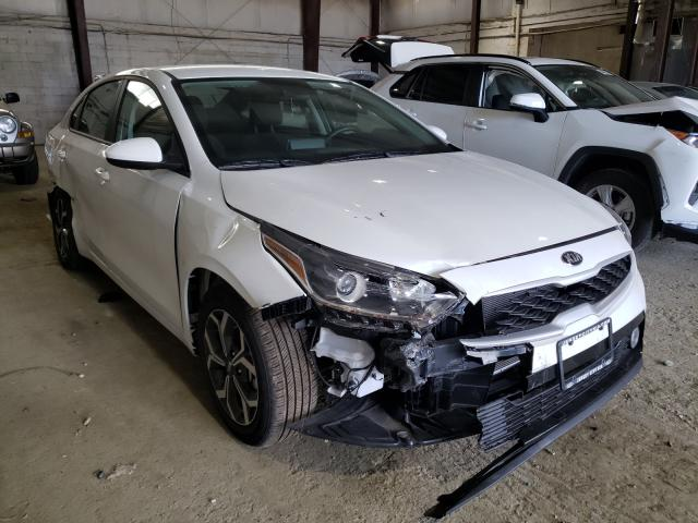 KIA Forte salvage cars for sale: 2021 KIA Forte