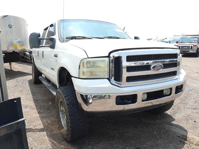 Salvage cars for sale from Copart Phoenix, AZ: 2005 Ford F250 Super